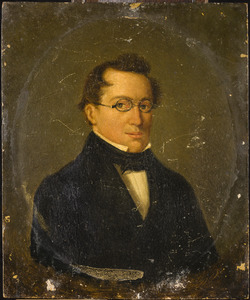Portret van Jan Godfried Gerlagh (1794-1842)