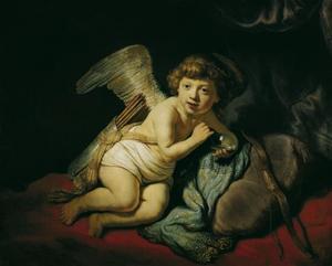 Bellenblazende Cupido