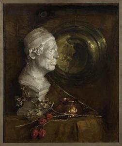 Still life with a plaster bust