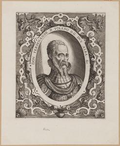 Portret van Ferdinand Alvarez de Toledo (1507-1582)