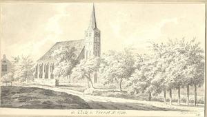De kerk te Voorst anno 1730