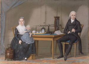 Portret van de familie van Hendrik Gijsbert Knoops (1753-1813)