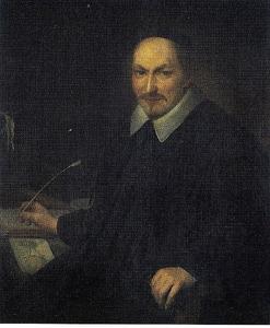 Portret van Augustinus Alstenius Bloemert (1585-1659)