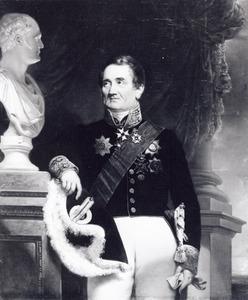 Portret van Jean Casimir de Brunet ( -1861)