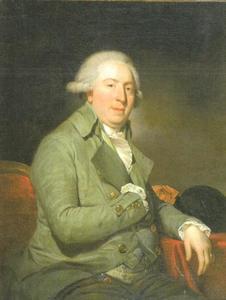 Portret van Rudolph van Olden (1752-1828), raad en  thesaurier van stadhouder Willem V van Oranje