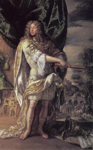 Portret van John Murray, 2nd Earl en 1st Marquis of Atholl (1631-1703) als een Romeinse veldheer bij de Slag bij Bothwell Brig (1679)