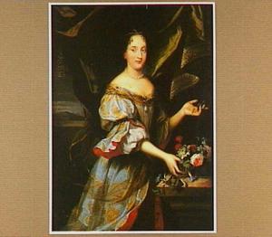 Portret van een vrouw, mogelijk Hortense Mancini
