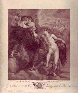 Ganymedes ontvang de schenkbeker van Hebe