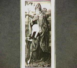 De H. Donatius (?) met stichtster
