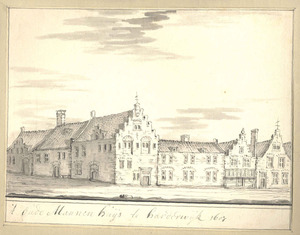 Harderwijk, het Oudemannenhuis anno 1607