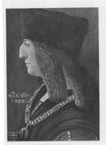 Portret van keizer Maximiliaan I (1459-1519