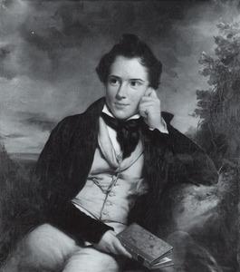 Portret van Karel Jan Frederik Cornelis Kneppelhout (1818-1885)