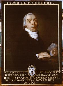 Portret van Jacob de Joncheere (1758-1840)