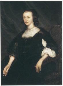 Portret van Lydewina Teding van Berkhout (1607-1665)