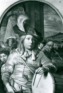 Jonge trommelaar