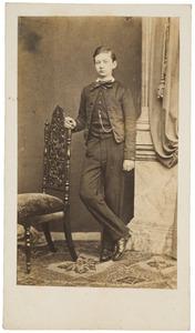Portret van Johan van der Haer (1847-1891)