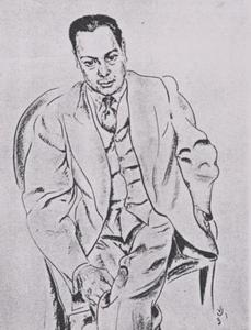 Portret van Charles Edgard du Perron (1899-1940)