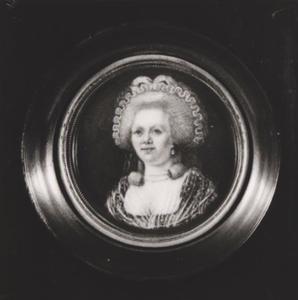 Portret van Johanna Casteleyn (1745-1814)