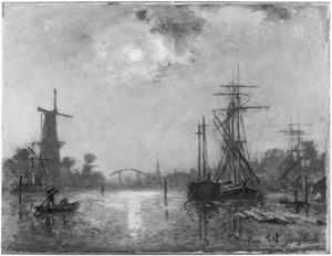 Gezicht op Delfshaven