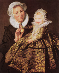 Portret van Catharina Hooft (1618-1691)