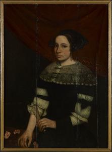 Portret van waarschijnlijk Elisabeth Schultinck