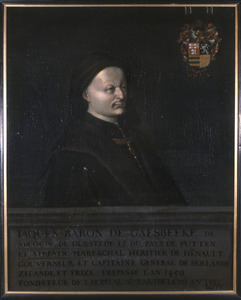 Portret van Jacob van Gaesbeeck van Abcoude (.... -1459)