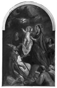 De Madonna met het kind met de H. Servatius van Tongeren als voorspreker voor de armen