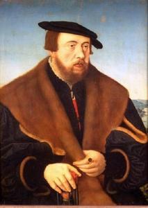 Portret van Johan von Glauburg (1503-1571)