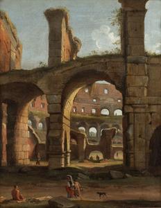 De ruïne van het Colosseum te Rome