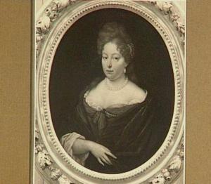 Portret van Martha van Groenhoven (1649-1716)