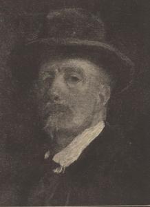 Portret van Jacob Simon Hendrik Kever (1854-1922)