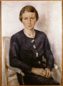 Portret van Jeanne Rudolphine Marie Romme (1906-1990)