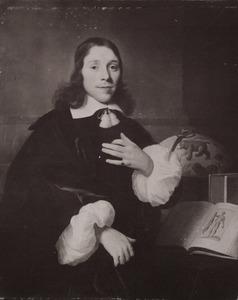 Portret van een jonge man, waarschijnlijk de schilder Dancker Danckerts (1634-1666)