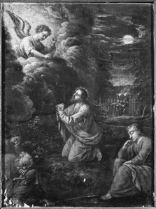 Christus in de hof van olijven (Gethsemane)