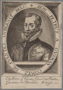Portret van Pedro Enriquez Gusman (1535-1610)