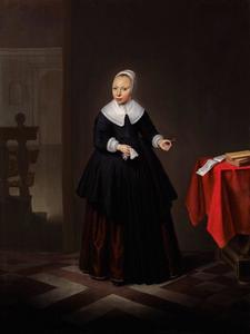 Portrtet van een onbekend meisje