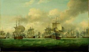 De slag bij de Doggersbank (5 augustus 1781)