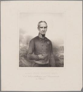 Portret van Alfred Candidus Ferdinand zu Windischgraetz (1787-1862)