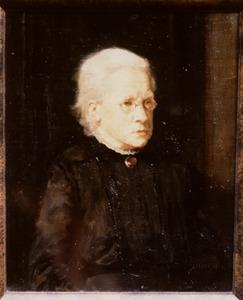 Portret van Elisabeth Margaretha Fred. de Flines (1848-1939)