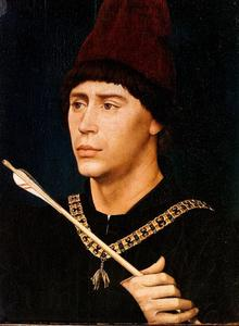 Portret van Antonie van Bourgondië (1421-1504)