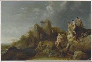 Landschap met Diana en Actaeon