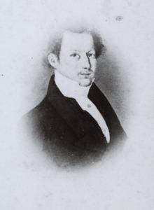 Portret van Nicolaas Johannes van der Mandele (1807-1886)