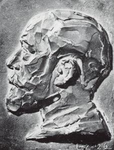 Portret van Lambertus Zijl (1866-1947)