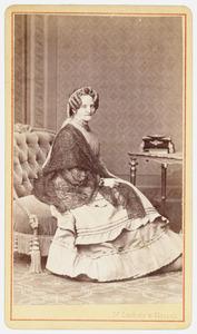 Portret van Jeanette Roorda ( -1888)