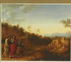 Landschap met de Emmausgangers
