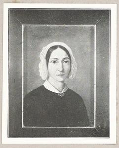 Portret van Christina Nieuwenkamp (1809-1887)