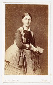 Portret van Anna van Lynden (1858-1945)