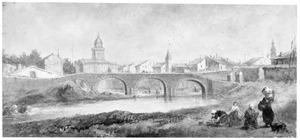 Stadsgezicht van Arles
