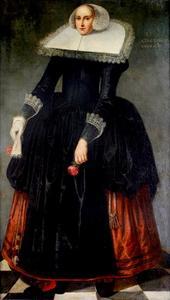 Portret van Trijntje Cornelisdr. Kever (1616-1633)