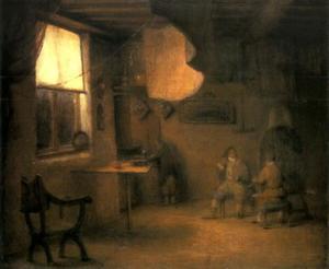 Het schildersatelier